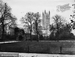 Canterbury, Cathedral Northside c.1868