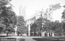 Canterbury, Cathedral, South East 1890