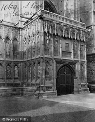 Canterbury, Cathedral, South Porch c.1862