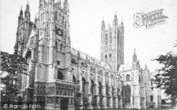 Canterbury, Cathedral, South West 1888
