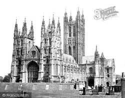 Cathedral, South West c.1862, Canterbury
