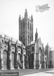Canterbury, Cathedral, The Bell Harry Tower 1888