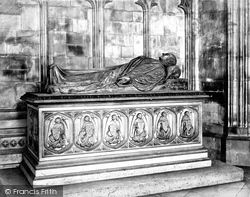 Canterbury, Cathedral, William Broughton's Tomb c.1868