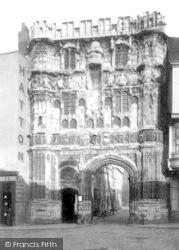 Canterbury, Christchurch Gate 1888
