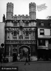 Canterbury, Christchurch Gateway 1954
