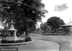 Dane John Gardens 1921, Canterbury