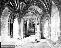 Canterbury, Entrance To Transept Of Martyrdom c.1862