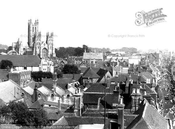 Canterbury, General View c1952