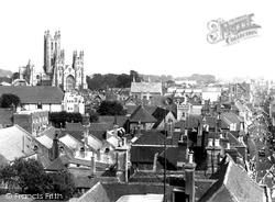 General View c.1952, Canterbury