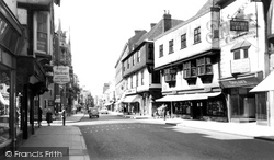 High Street c.1955, Canterbury