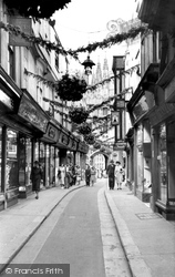 Mercery Lane c.1952, Canterbury