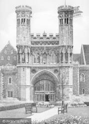 Canterbury, St Augustine's College c.1950