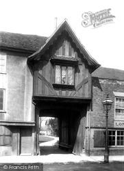 St John's Hospital Gateway 1898, Canterbury