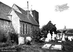 Canterbury, St Martin's Church 1866