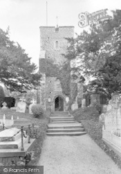 Canterbury, St Martin's Church 1921