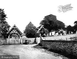 Canterbury, St Martin's Church c.1866