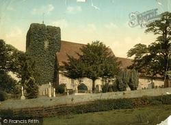 Canterbury, St Martin's Church c.1900