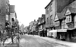 St Peter's Street 1921, Canterbury