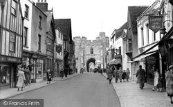 St Peter's Street c.1955, Canterbury