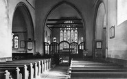 Canterbury, St Stephen's Church interior c1888