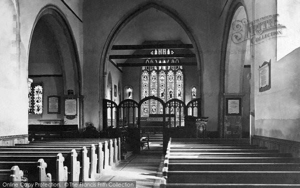 Photo of Canterbury, St Stephen's Church interior c1888