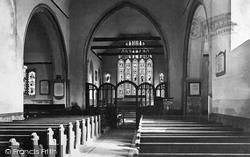 St Stephen's Church Interior c.1888, Canterbury