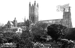 The Cathedral 1888, Canterbury