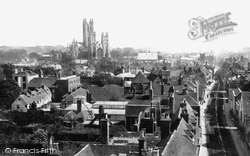 The Cathedral c.1875, Canterbury