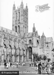 Canterbury, The Cathedral c.1952