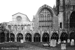 The Cathedral, Cloisters 1888, Canterbury