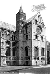 The Cathedral, South Transept 1888, Canterbury