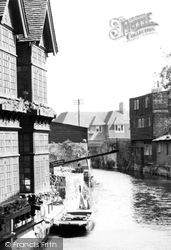 The Ducking Stool c.1955, Canterbury