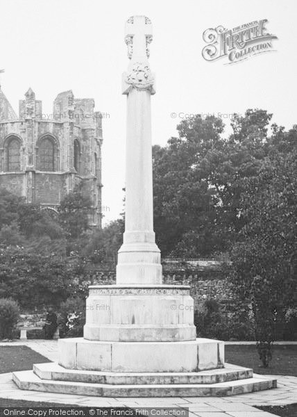 Photo of Canterbury, The Kent War Memorial 1924