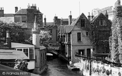 View Of The Weavers' House c.1955, Canterbury
