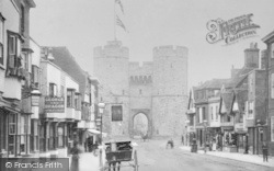 Canterbury, Westgate 1901