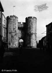 Canterbury, Westgate 1954