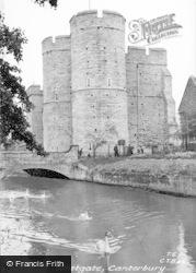 Canterbury, Westgate c.1955