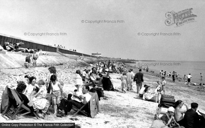 Canvey Island, The Beach c.1960