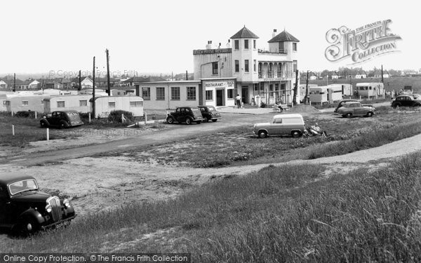Photo of Canvey Island, the Beach House Restaurant c1955, ref. C237122