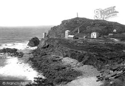 Cape Cornwall, 1890