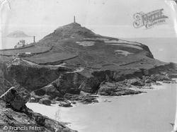 Cape Cornwall, And The Brisons c.1890