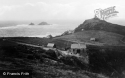 Cape Cornwall, And The Brisons c.1932