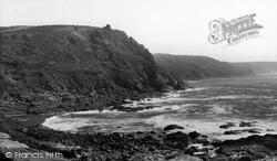 Cape Cornwall, c.1955