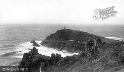 Cape Cornwall, From Carn Gloose c.1932