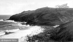 Cape Cornwall, Porthledden And Castle Cliffs c.1932