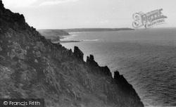 Cape Cornwall, The Rocks c.1955