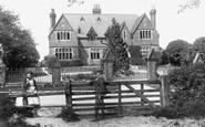 Capel, Cottage Hospital 1903