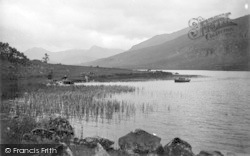 Capel Curig, The Lake And Mountains c.1890
