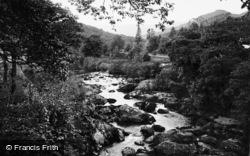 Capel Curig, View From Pont-Y-Cyfyng c.1936