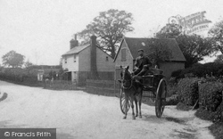 Capel, Horse And Cart 1906